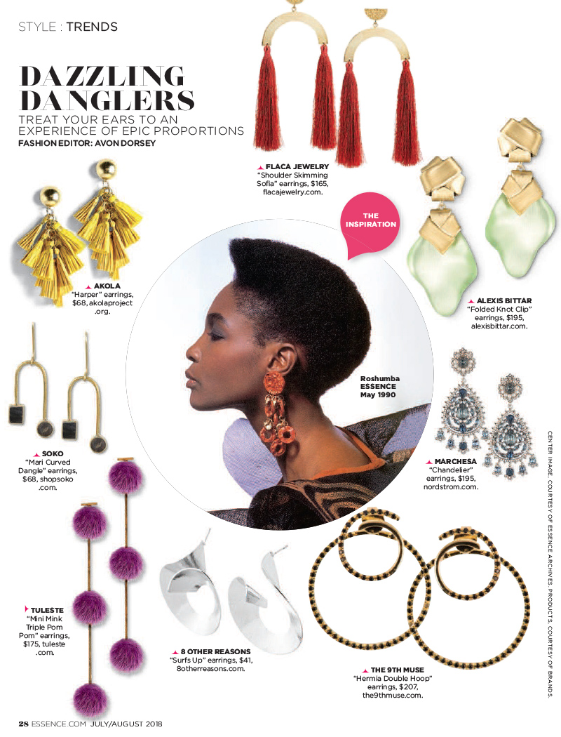 Press Feature in Essence featuring The Jewelry Group