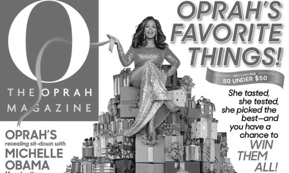 "O, THE OPRAH MAGAZINE: ""Great Buys Under $100"""