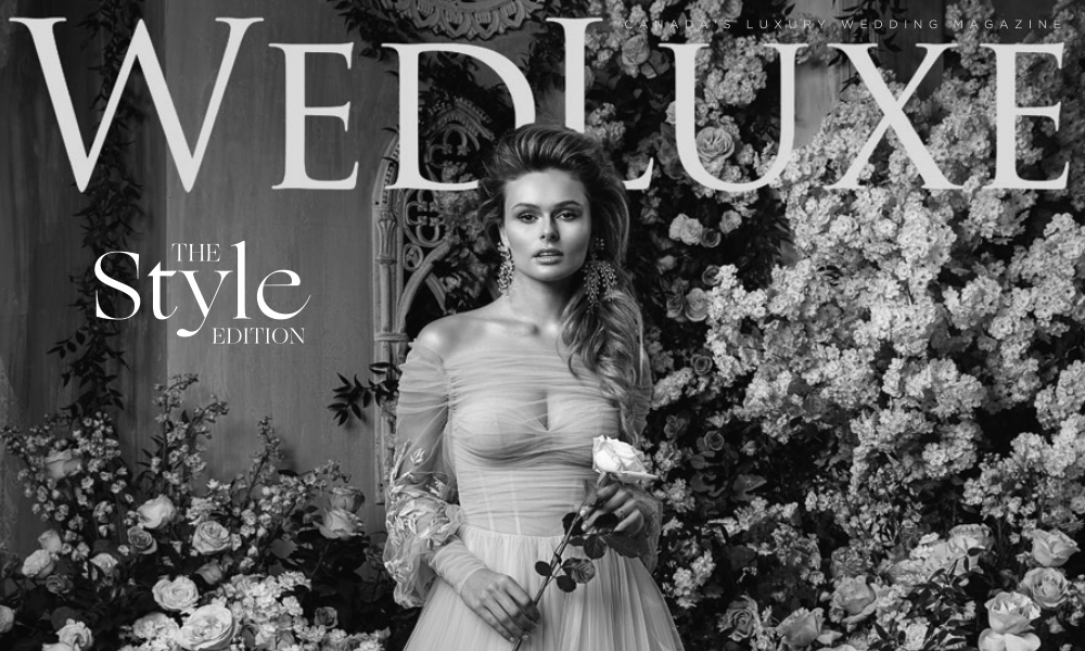"WEDLUXE: ""Botanica Delectica; Poised Perfection"""