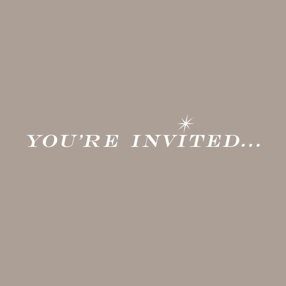 Brand logo of You're Invited
