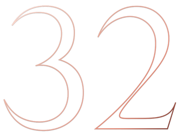 The number 32