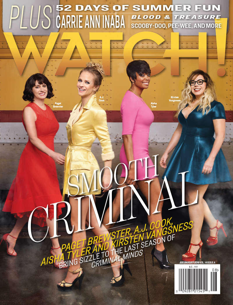 Cover of Watch Magazine! in which TJG Product is Featured