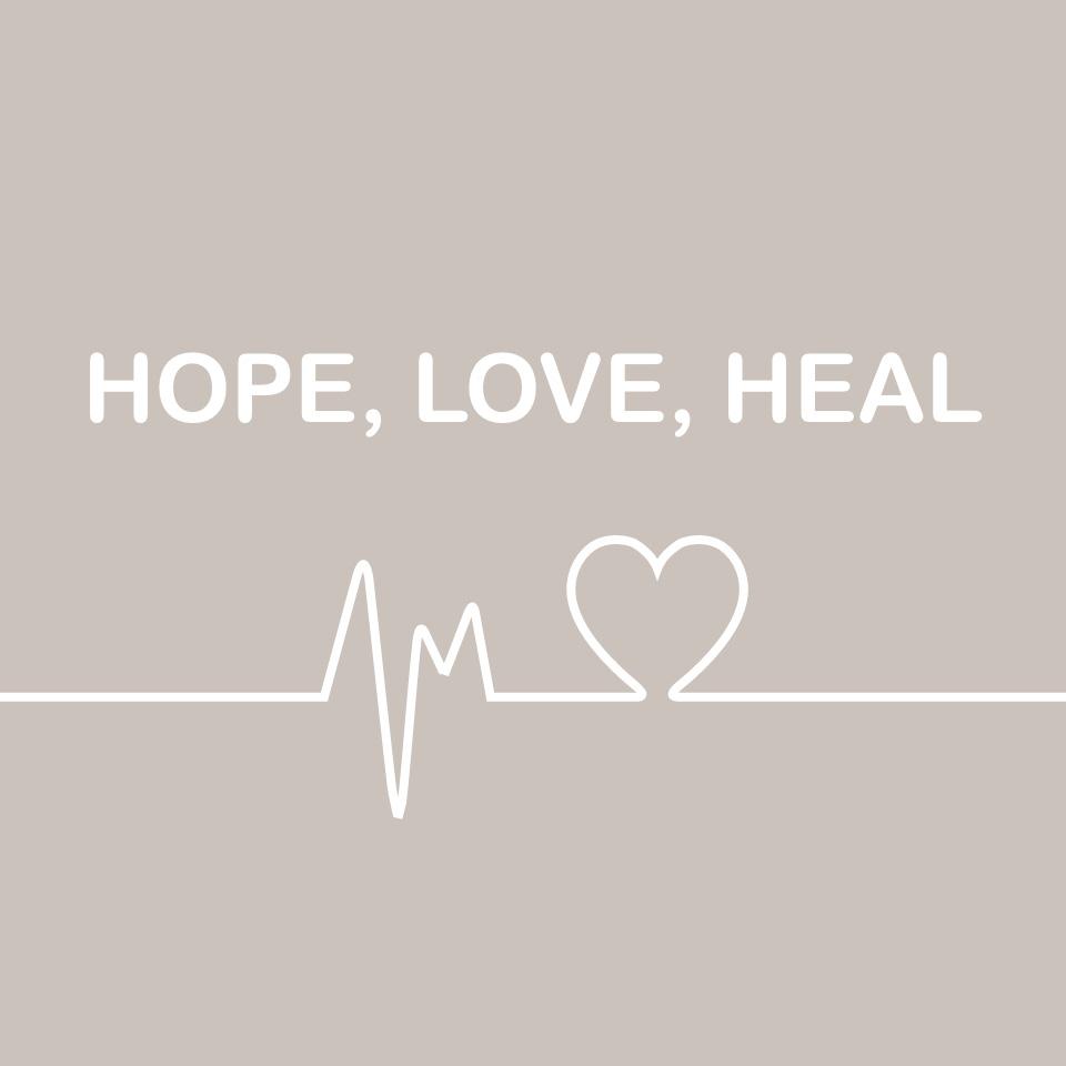 Brand logo of Hope, Love, Heal